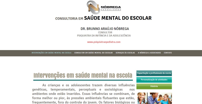 Consultoria em Saúde Mental do Escolar