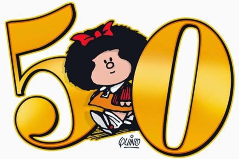 ¡Felices 50 años Mafalda!