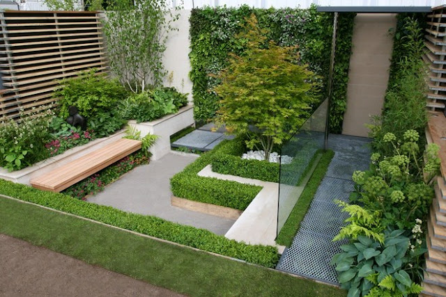 Roof Garden Ideas for Minimalist Metropolitan House