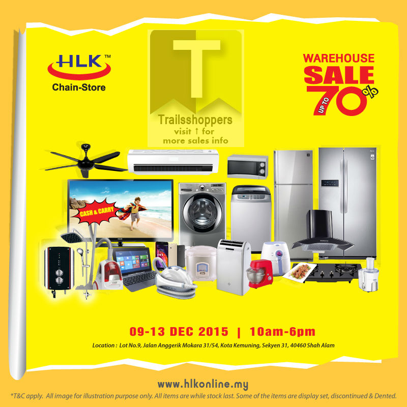 HLK Warehouse Sale 2015 electrical appliance