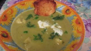 суп-пюре с сельдереем готов