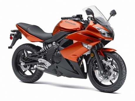2011 kawasaki ninja 650R New color