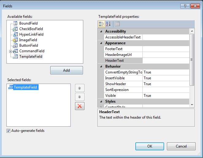 gridview in windows application using c#