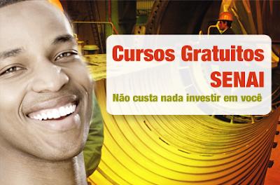 SENAI BA 2013 CURSOS GRATUITOS INSCRIÇÕES