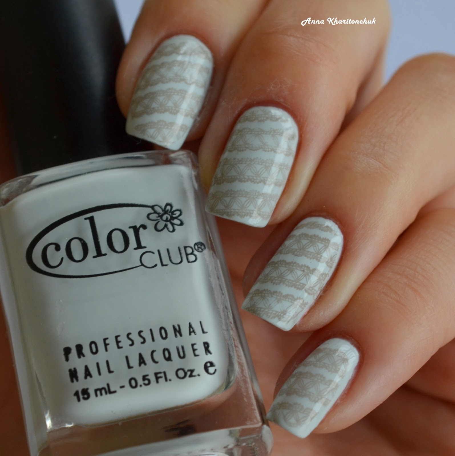 Color Club Silver Lake 1000 + стемпинг Lesly LS-113