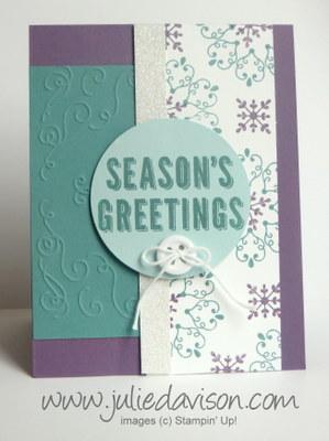 Julies stamping spot stampin up project ideas by julie davison letterpress winter seasons greeting card m4hsunfo