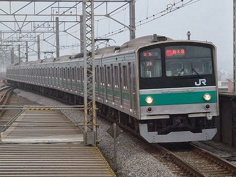 埼京線 通勤快速 新木場行き1 205系