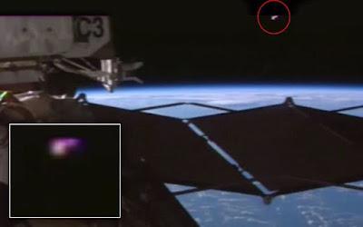 Penampakan UFO yang terekam oleh NASA