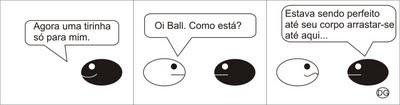 Balls - Essa tira é minha (tirinha)