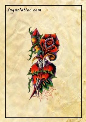 τατουάζ καρδιά, παραδοσιακό τατουάζ,  αυξήθηκε τατουάζ, web-αράχνη web-τατουάζ, αμπέλια τατουάζ, τατουάζ στο αίμα, αιματηρό τατουάζ, τατουάζ ξίφος, στιλέτο τατουάζ, μαχαίρωσε τατουάζ, τατουάζ λουλούδια, θηλυκό τατουάζ, αρκετά τατουάζ, όμορφο τατουάζ, χελώνες τατουάζ, άνθη τατουάζ, τατουάζ φύλλο, φύλλα τατουάζ, τατουάζ floral