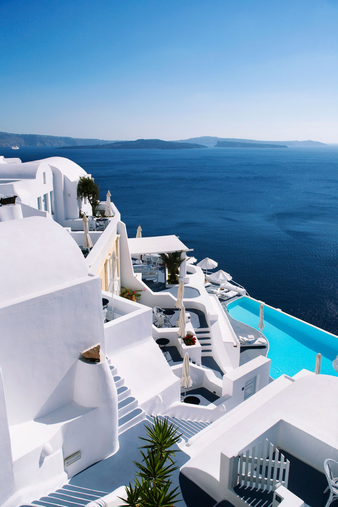 Passion for luxury superb katikies hotel in oia for Design hotels griechenland