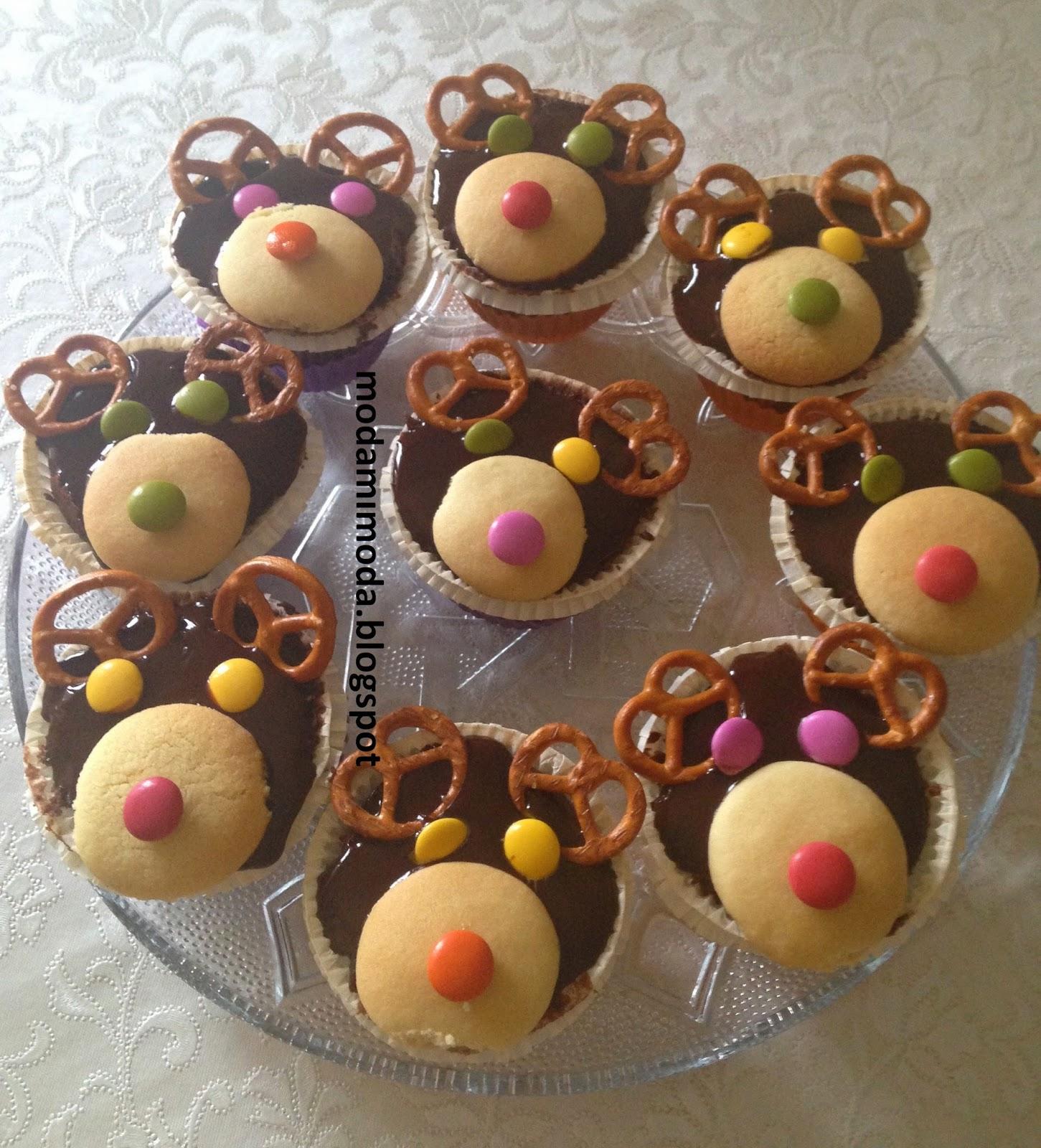 çikolatalı cupkake