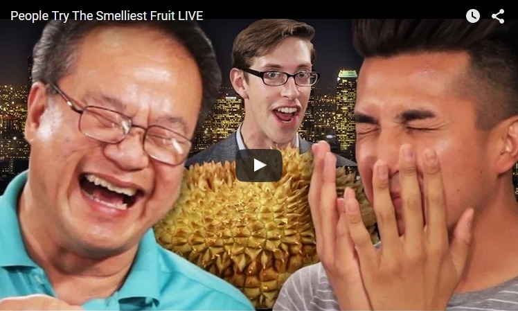Americans Accept Durian Challenge