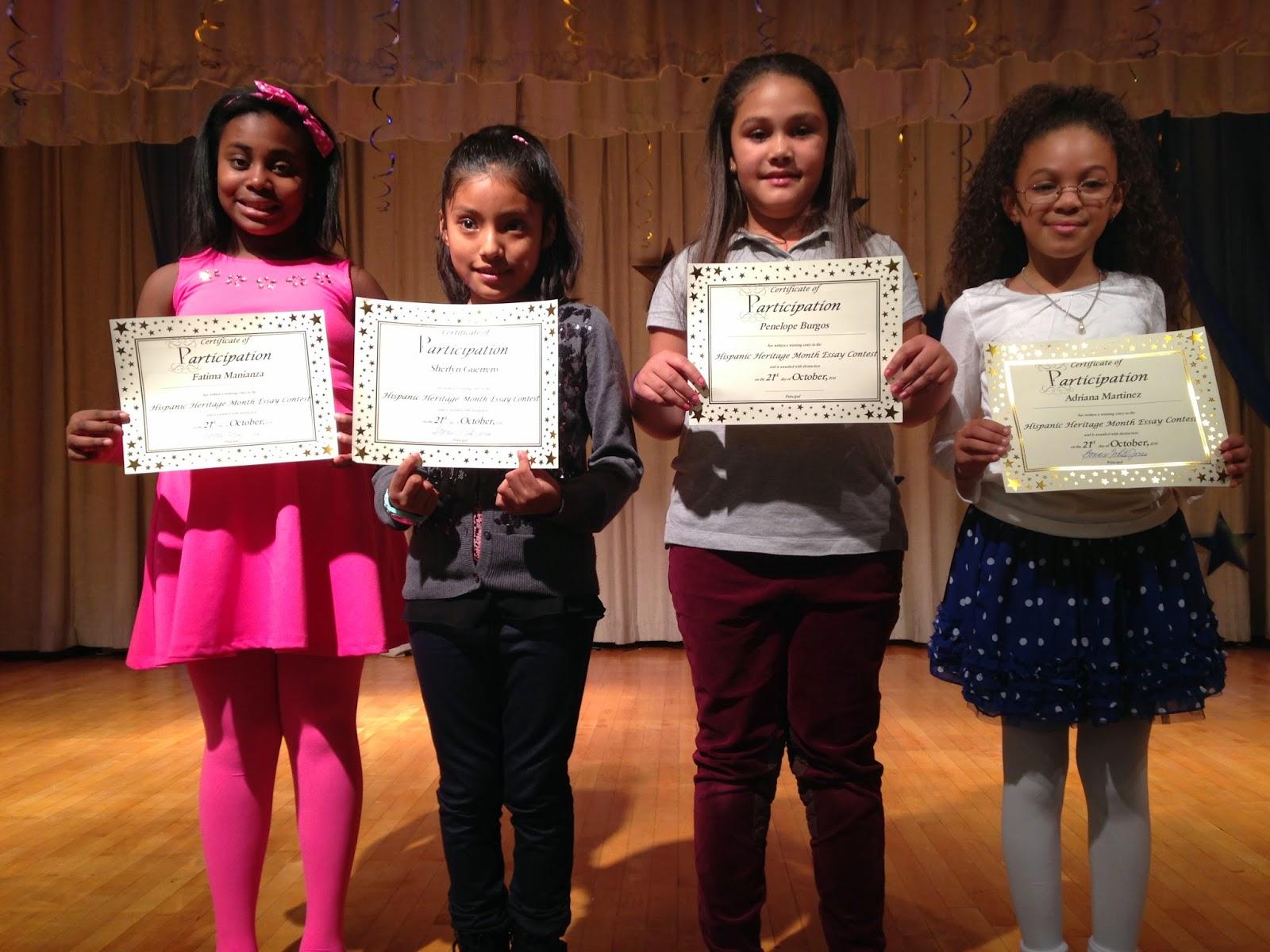 Scholastic essay contest winners