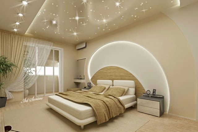 22 modern pop false ceiling designs latest catalogue 2015 - Photo chambre adulte ...