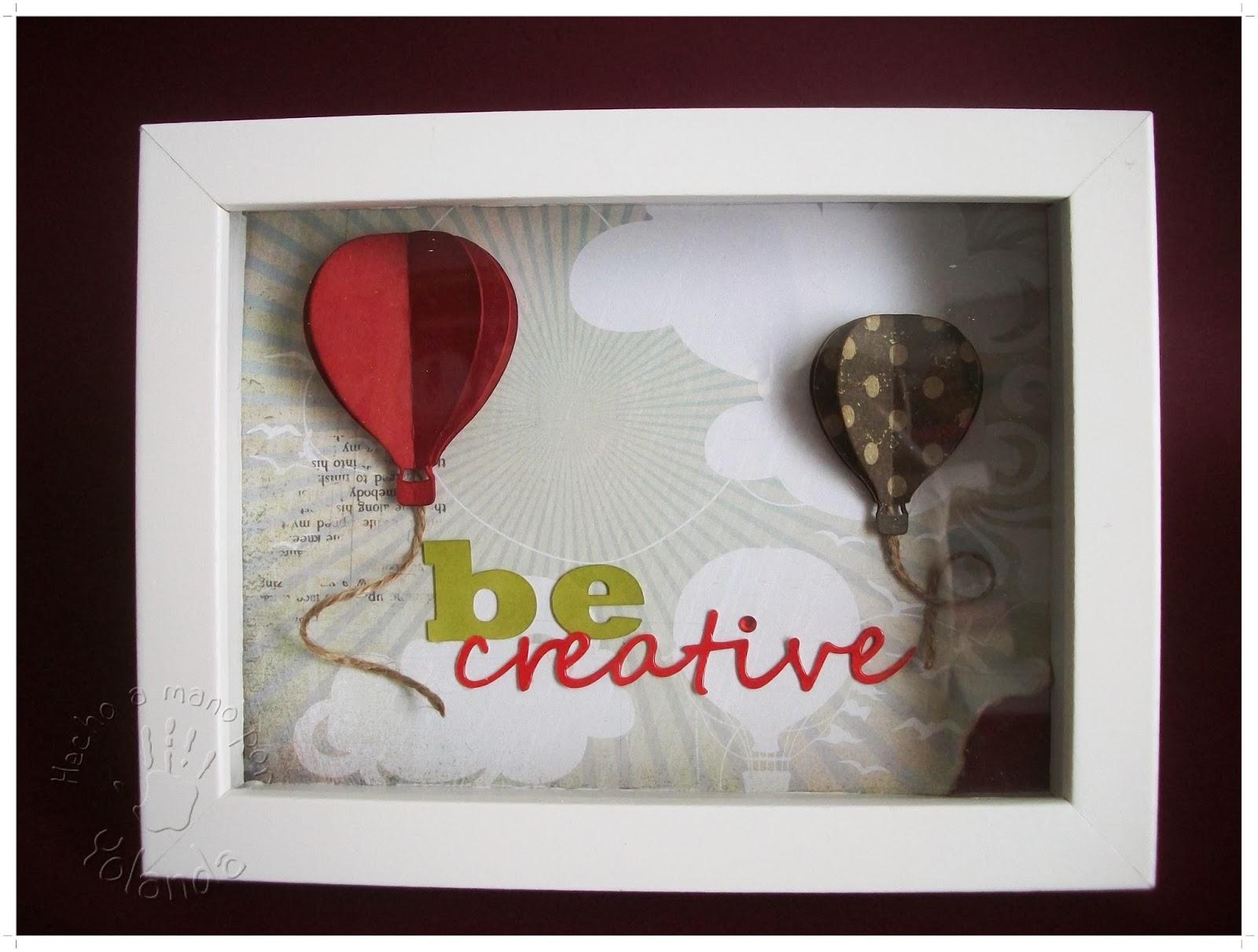 El sitio de mi recreo: Be creative Frame