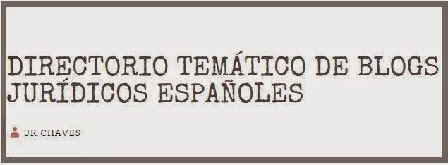 DIRECTORIO TEMÁTICO DE BLOGS JURÍDICOS