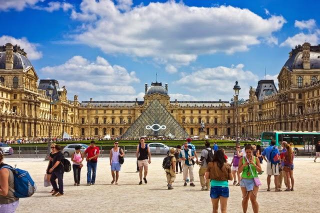 Прогулка по достопримечательностям Парижа