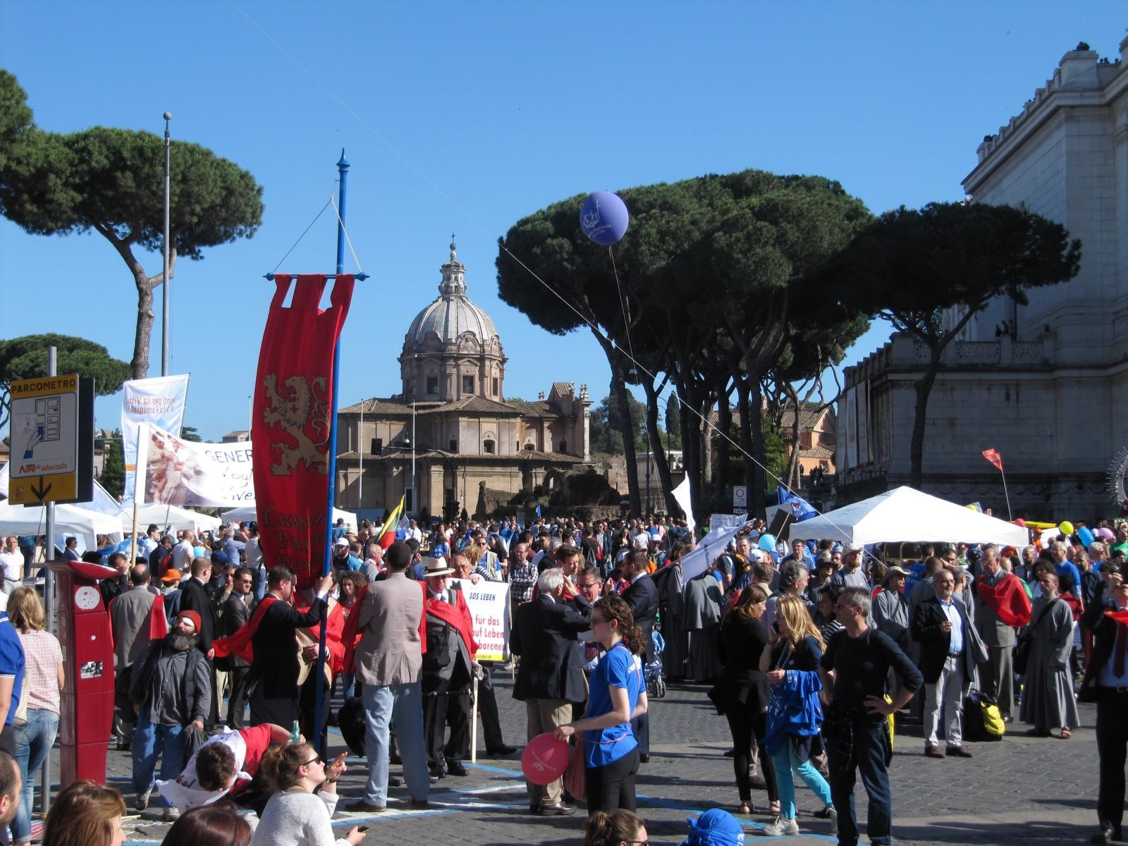 20 maio 2017 Roma Marcha pela Vida