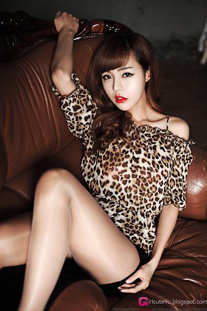 2 Seo Jin Ah - Sexy Leopard-Very cute asian girl - girlcute4u.blogspot.com
