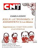 Charla- Debate