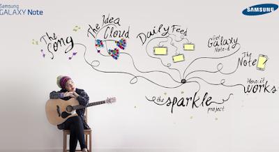 Yuna sparkle project samsung galaxy note
