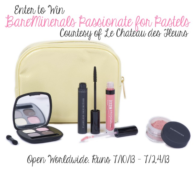Bareminerals passionate for pastels giveaway