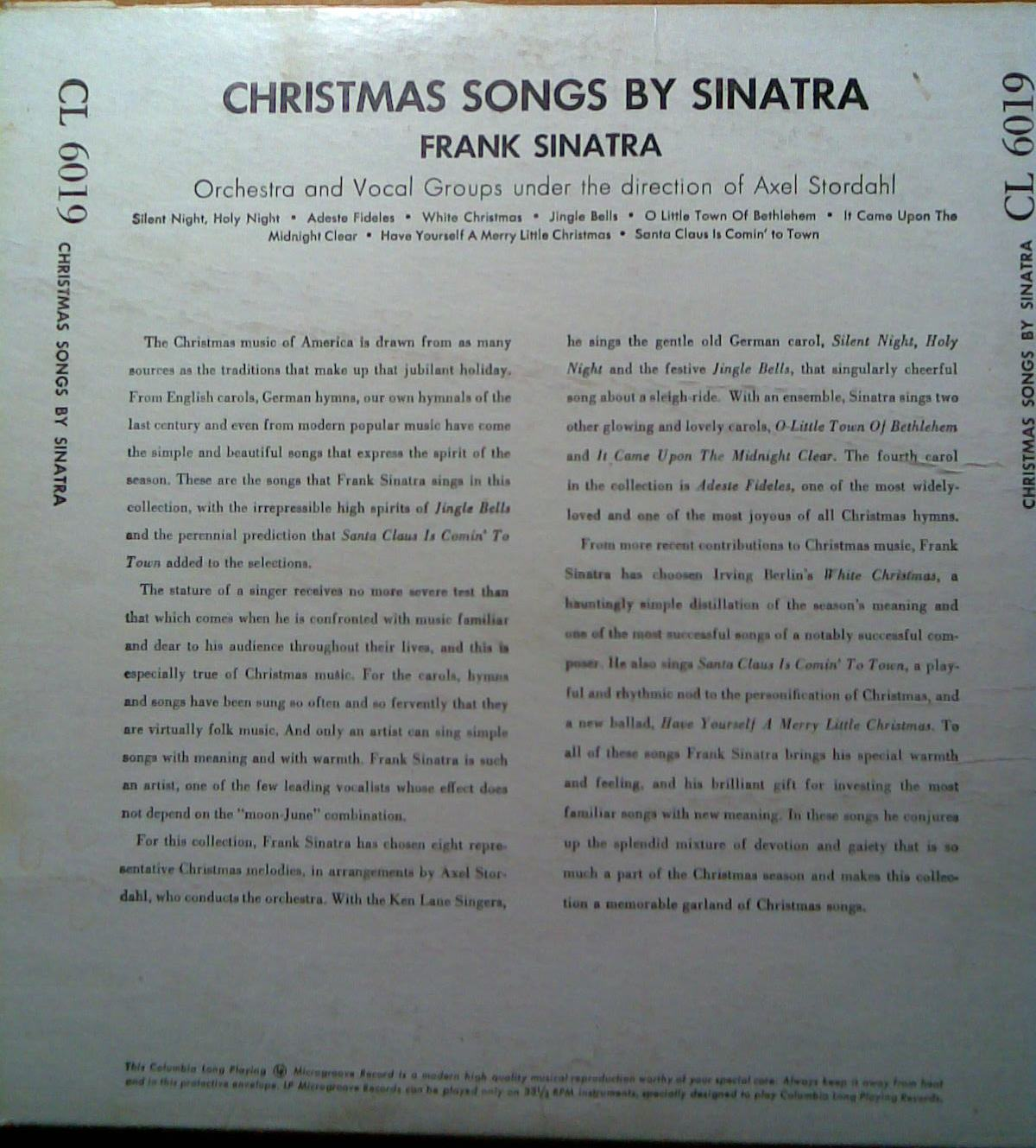 christmas songs by sinatra - Christmas Songs By Sinatra