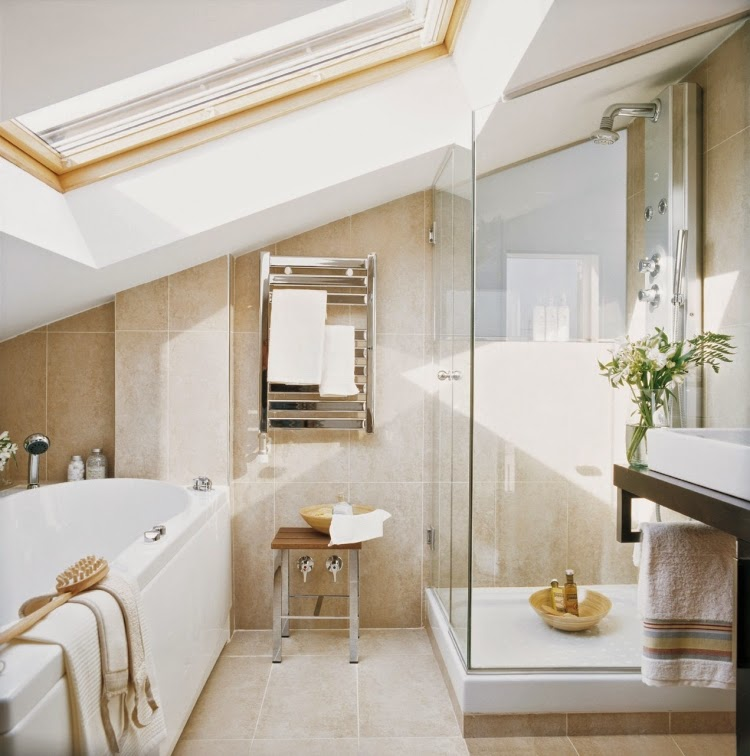 15 great ideas for modern bathroom designs with glass shower for Bathroom designs 8 x 15