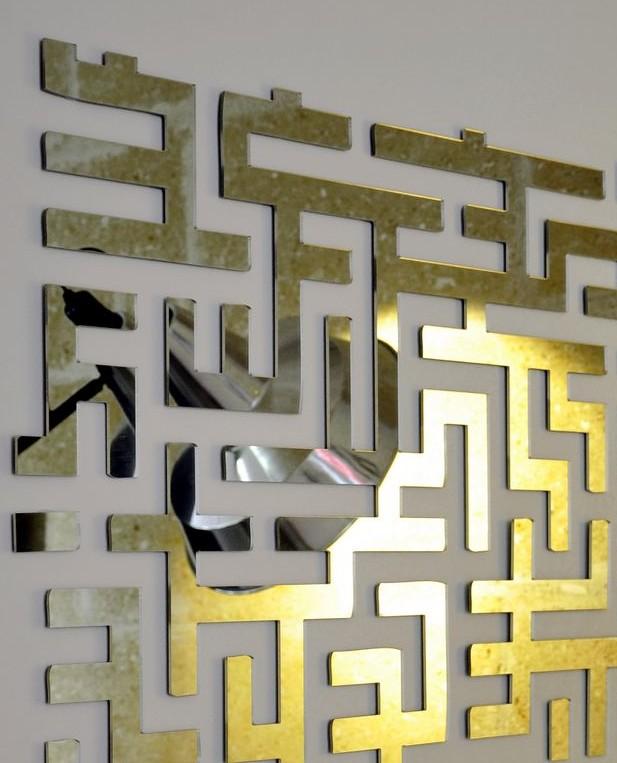 design for loft un joli miroir esprit loft. Black Bedroom Furniture Sets. Home Design Ideas