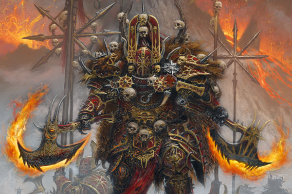 libro de ejército Warhammer: Guerreros del Caos