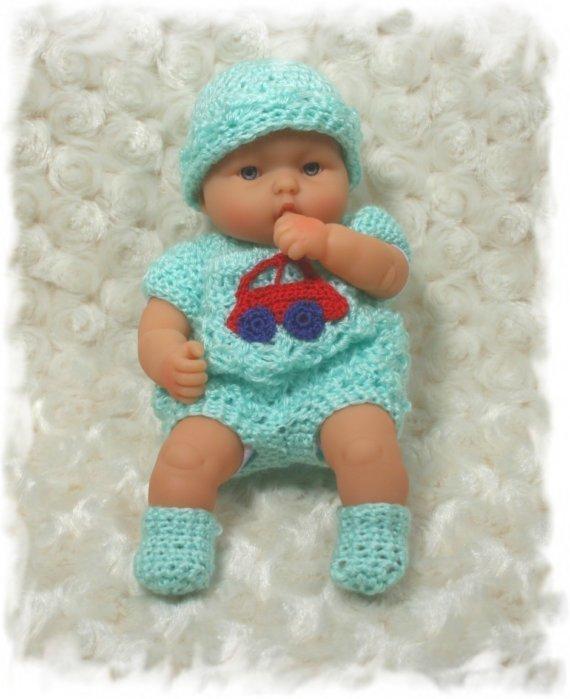 Sapatinhos Para Bebê - Life Baby: Roupas de boneca em crochê