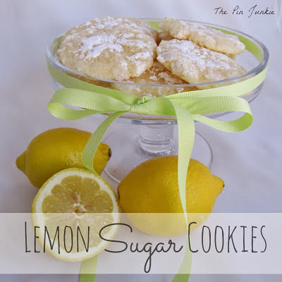 lemon cookies, sugar cookies