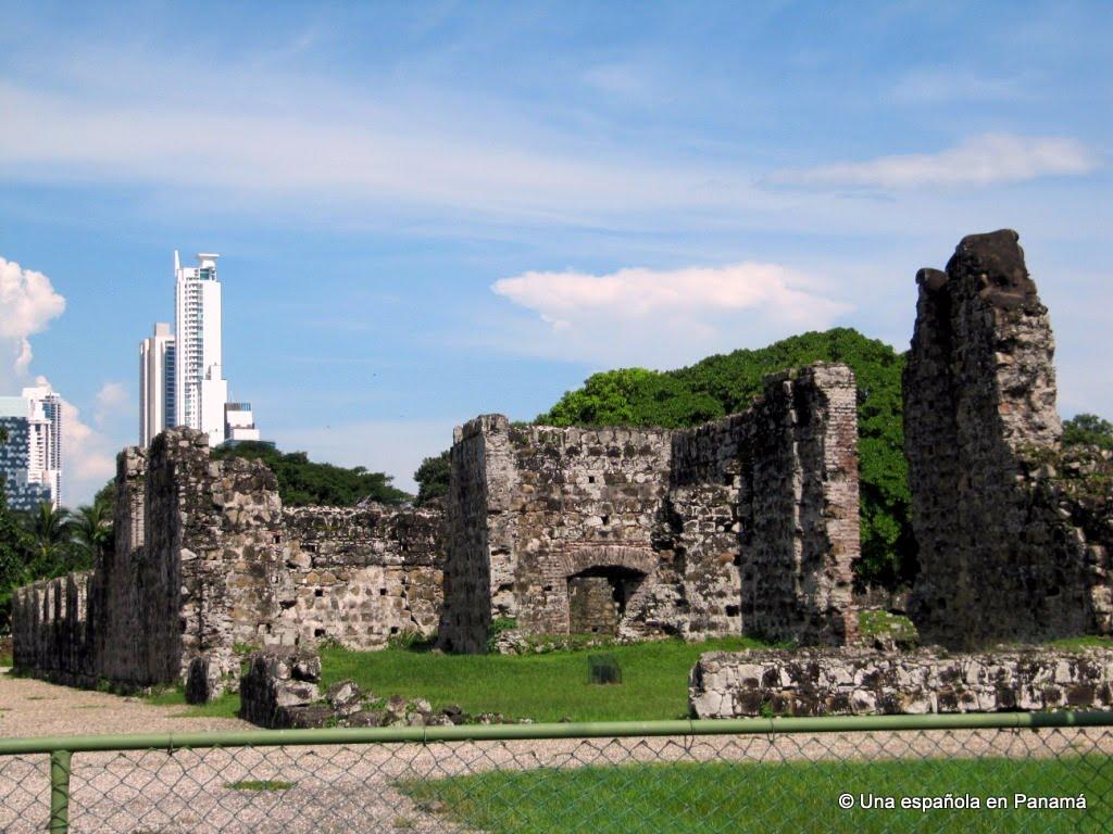 sitio arqueologico panama viejo