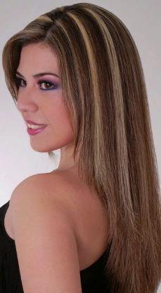 C mo hacer mechas en cabello virgen diy belleza y peinados for Imagenes de mechas