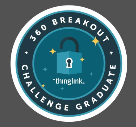 360 Breakout Challenge Graduate