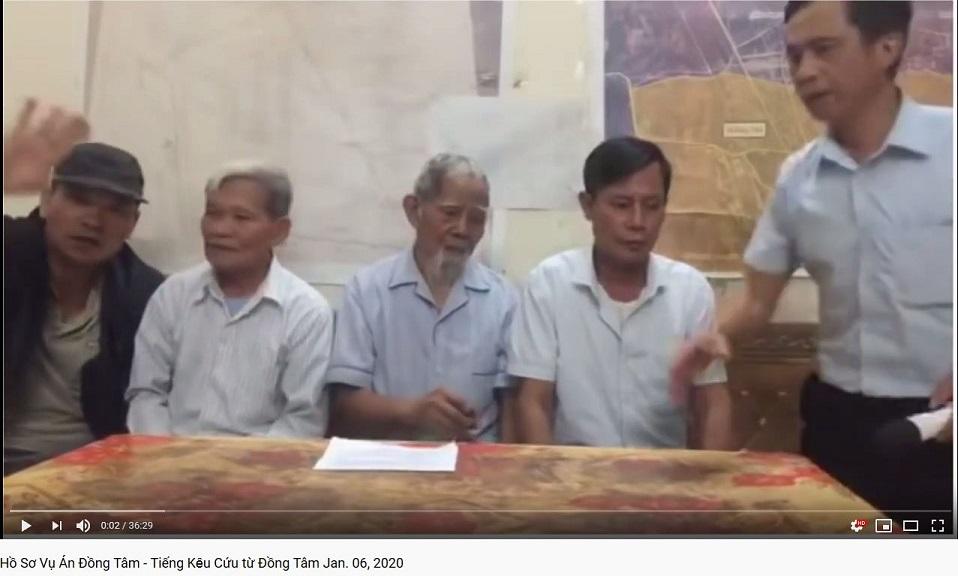 Hồ Sơ Vụ Án Ðồng Tâm - Tiếng Kȇu Cứu từ Ðồng Tâm Jan. 06, 2020
