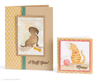 Dog and Cat Stamp Sets CTMH