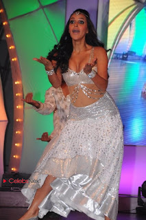 Neha Dhupia  stage Dance Pictures at TV9 TSR Awards  0008.jpg
