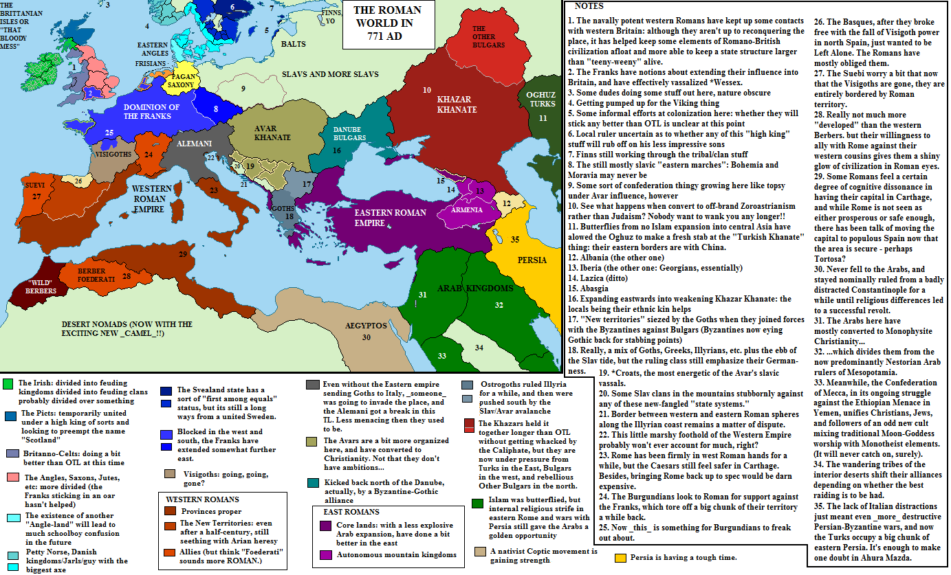 Alternate History Weekly Update: Map Monday: Western Rump (or The ...