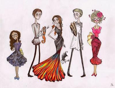 http://www.hungergamestrilogy.net/2012/04/fan-art-tim-burtonned-hunger-games-characters/