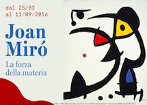Mostra su Joan Mirò al Museo delle Culture di Milano