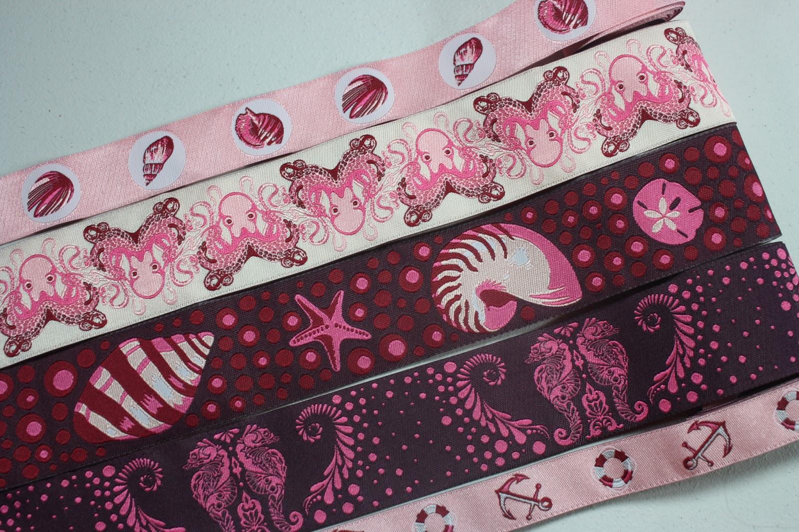 Grosgrain Ribbon Dog Collars