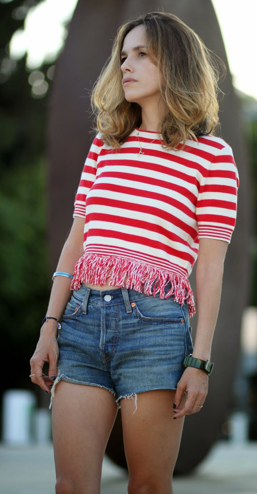 501, levi's, shortdenims, style, lookoftheday, stripes, fashionblog, bradpiit, אופנה, בלוגאופנה
