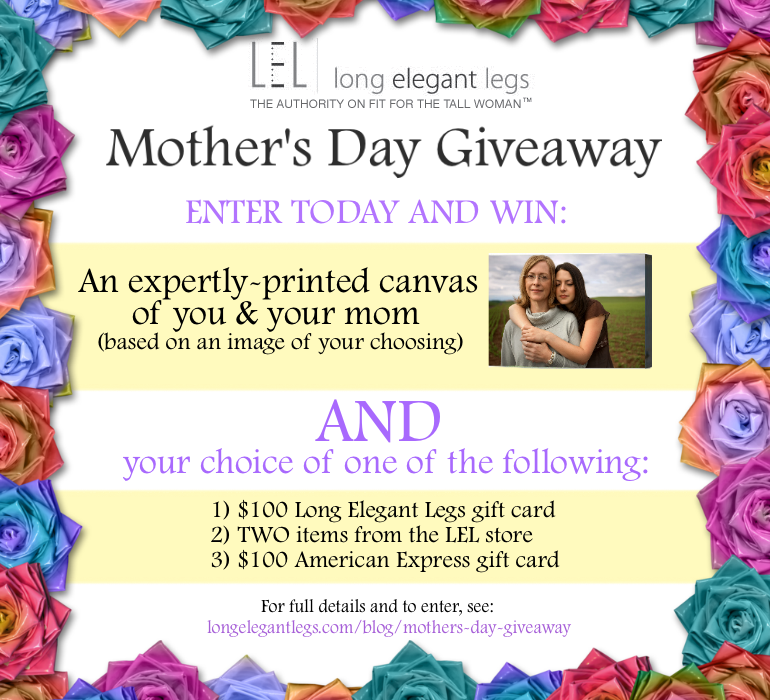 Long Elegant Legs Mother's Day Giveaway | The Girl in the ...