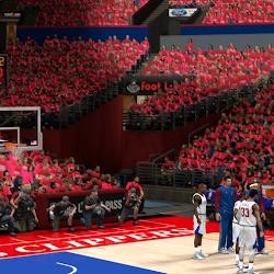 NBA 2K14 L.A. Clippers Playoffs Crowd Mod