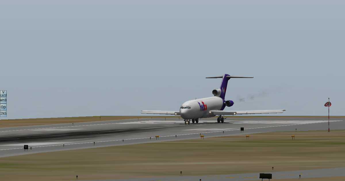 how to start the 727 x-plane