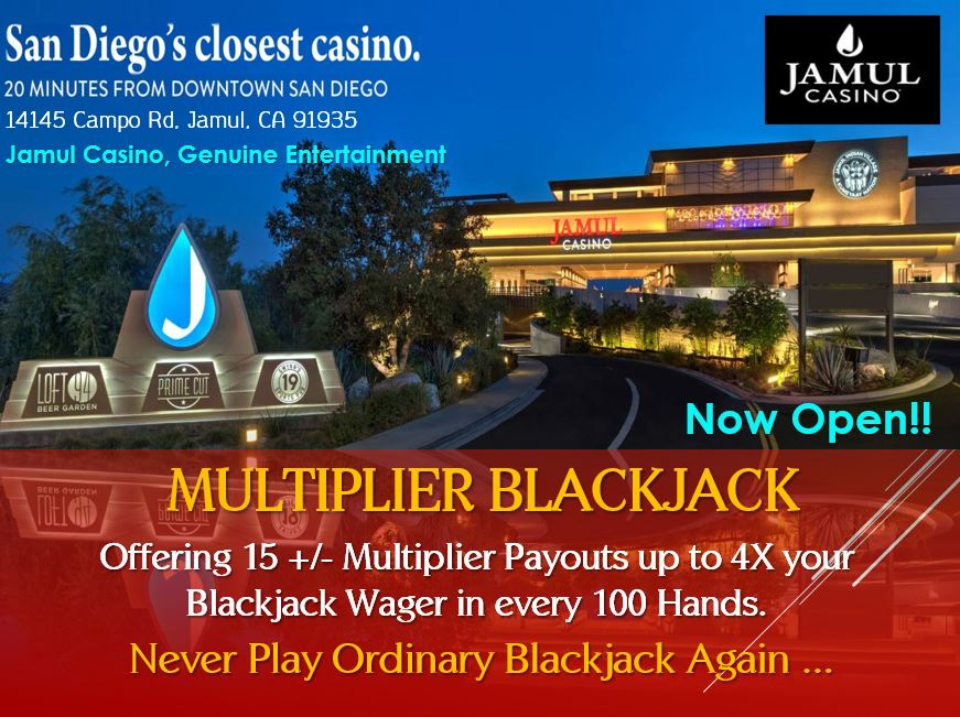 Jamul Casino, San Diego. CA