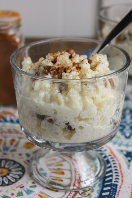 Creamy Vanilla Rice Pudding  | The Chef Next Door #HolidayRiceRecipes