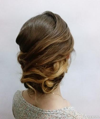 fryzura ślubna 17